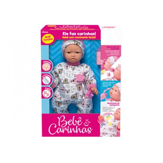 Boneca Bebê Carinhas com Movimento Facial (A Pilha)