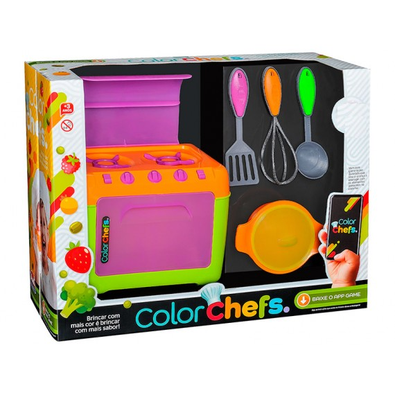 Color Chefs Kit Fogão