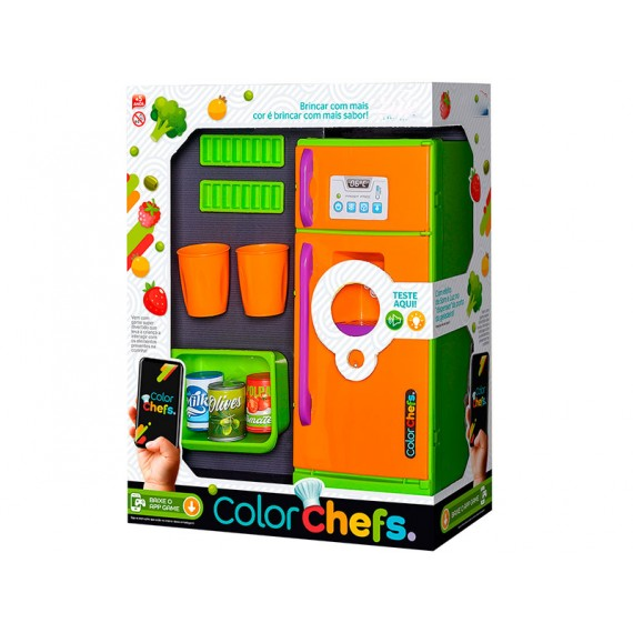 Color Chefs Kit Geladeira