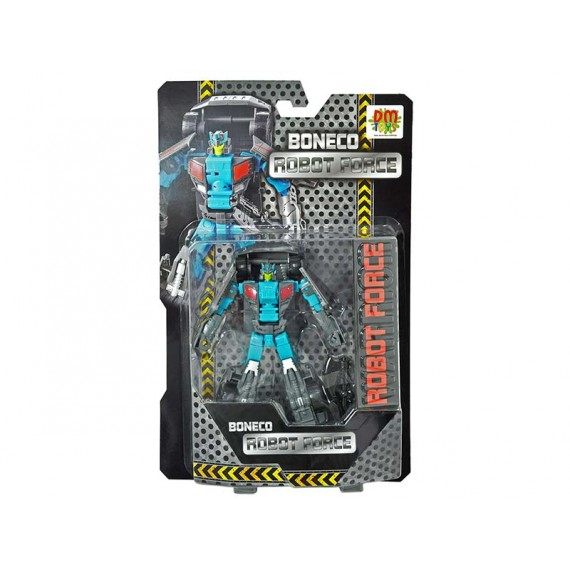 Boneco Robot Force Transformers na Caixa