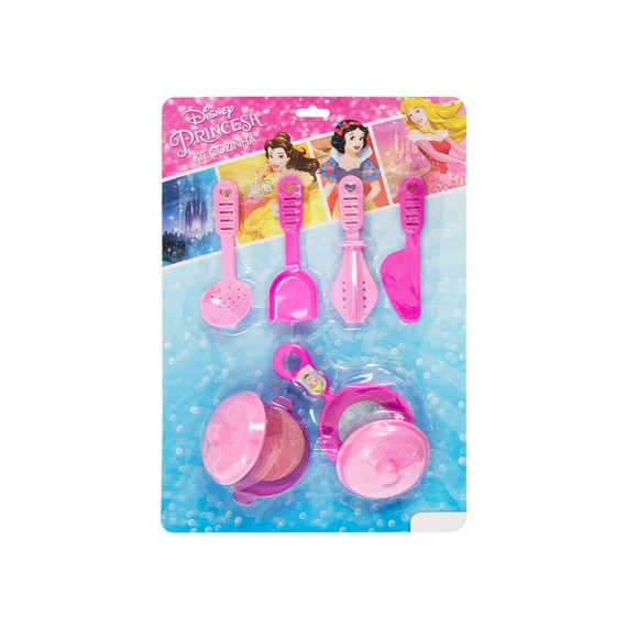 Kit Cozinha das Princesas Disney 8 Peças