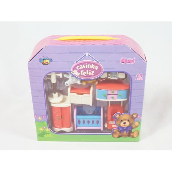Miniaturas para Brincar de Casinha Feliz