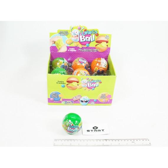 Leleca Ball Bola com 125 Gramas Cores, Unidade
