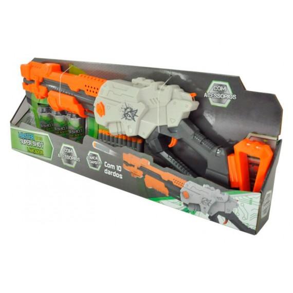 Lançador Super Shoot Mater Pro com Acessórios