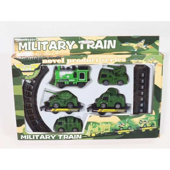 Locomotiva Trem Militar a Pilha