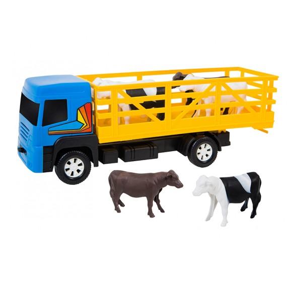 Caminhão Boiadeiro, com Animais