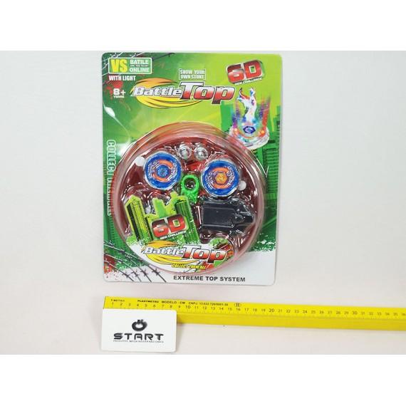 Brinquedo Giroscópio de Plastico com Acessórios
