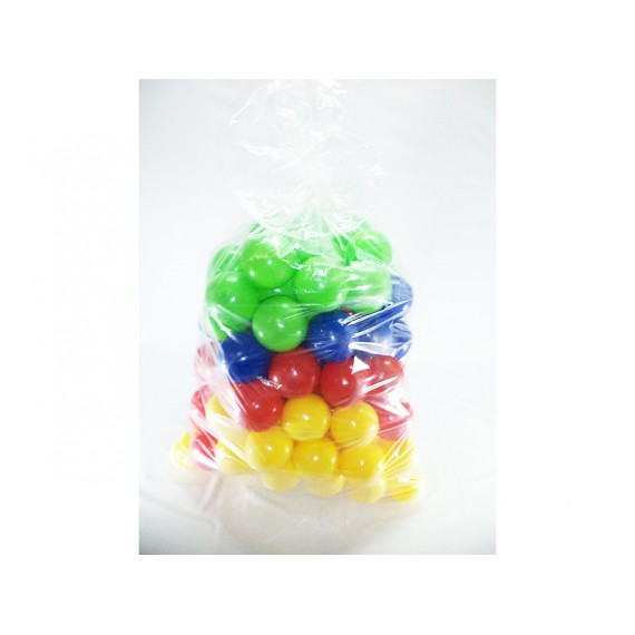 Kit Saco com 50/100 Bolinhas Coloridas para Piscina