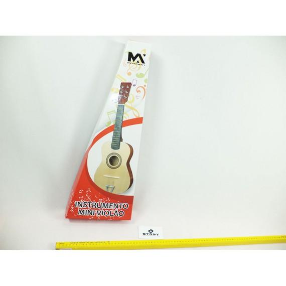 Violão de Madeira - Instrumento Musical com Cordas