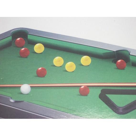 Jogo de Bilhar Sinuca 21 Peças - Tam. 55 cm
