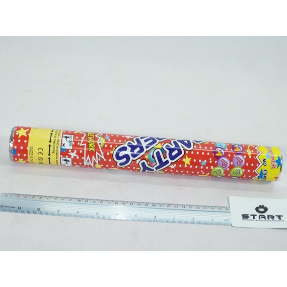 Lança Confete 38cm Passaros Laminados Grandes