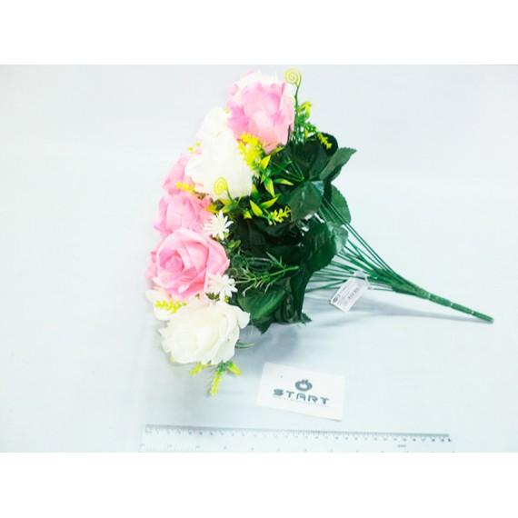 Buque Botão de Rosas 24 Flores