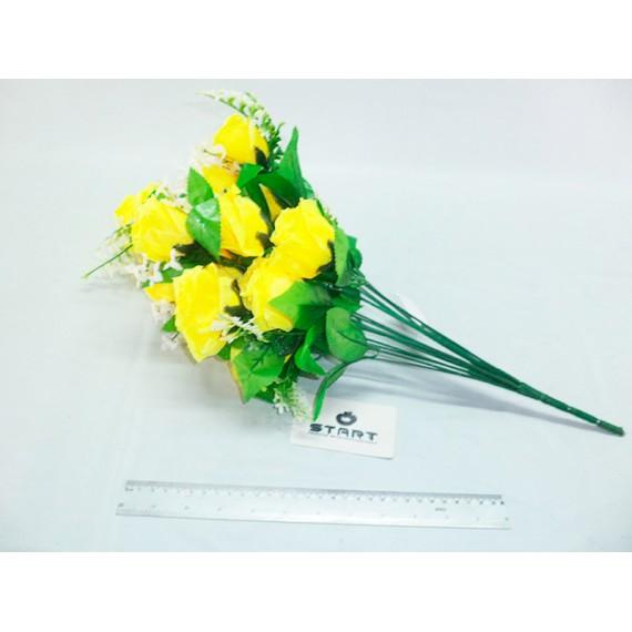 Flor Buque de Rosas Abertas 18 Flores