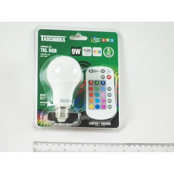 Lâmpada de Led TKL RGB Controle Remoto Decorativa
