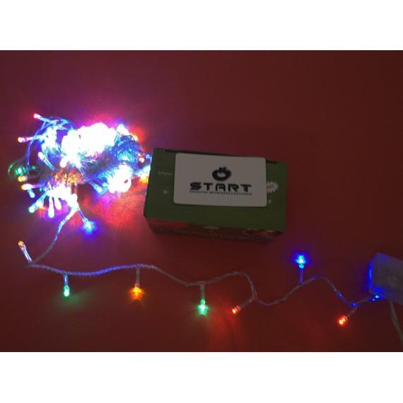 Pisca Pisca LED Colorido 100 Lâmpadas 8 Funções 220 Volts