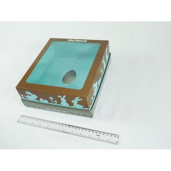 Caixa para Ovo de Colher com Visor (Ovo de 100, 250, 350 ou 500 gramas)