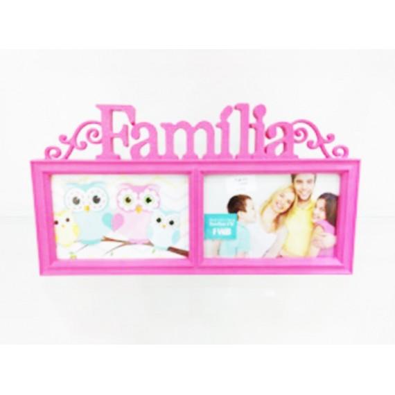 Porta Retrato 2 Fotos 10 x 15 cm Amigos ou Família, Love