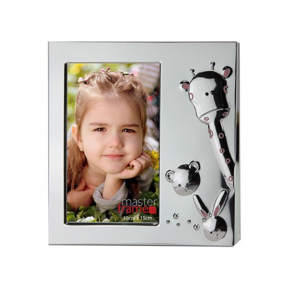 Porta Retrato de Metal Baby 10 x 15 cm