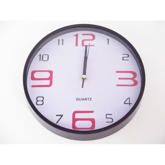 Relógio de Parede de Vidro Tam. 30 cm Liso
