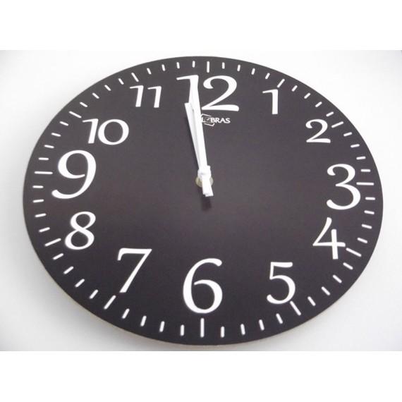 Relógio Wood de Parede em MDF Tam. 29 cm  RELOBRAS