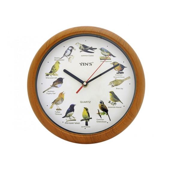 Relógio de Parede Redondo Passarinhos 26 cm - YI15446