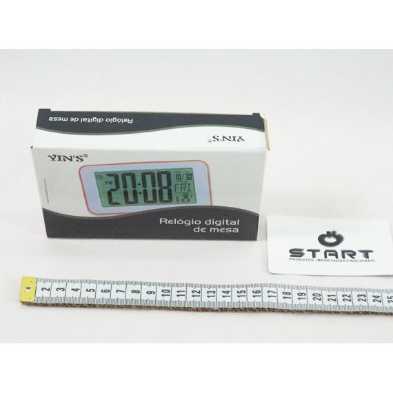 Relógio de Mesa Digital Despertador