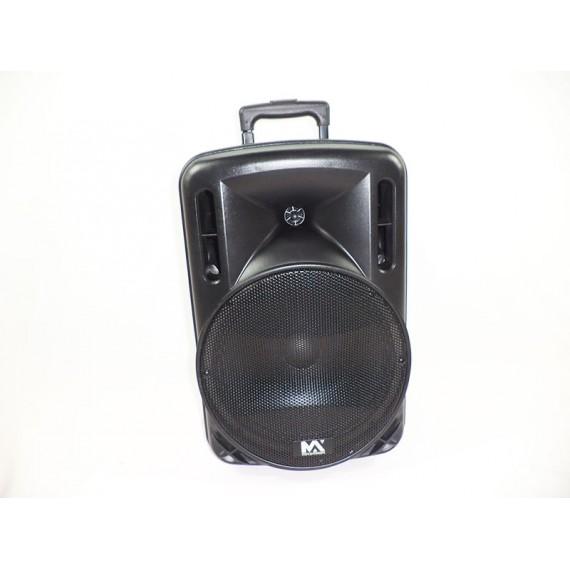 Amplificador de Áudio Portátil Profissional 110/220V, FM, USB, Cartão e Funções