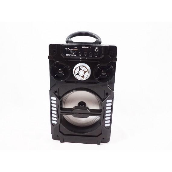 Caixa de Som Bateria Recarregável, USB, FM, Luzes