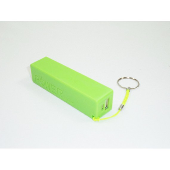 Carregador de Celular, portátil com bateria interna 2600 mAh, Várias Cores