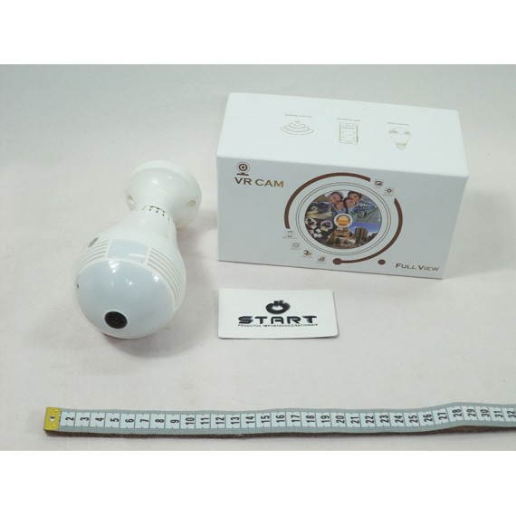 Câmera de Segurança 3D Panorâmica 360 Graus
