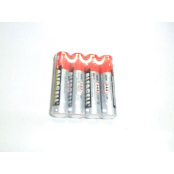 Pilha Palito AAA 1,5V, Embalagem com 4