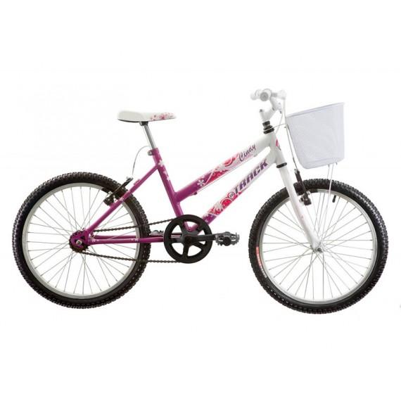 Bicicleta Infanto Juvenil Aro 20 Cindy Sem Marcha