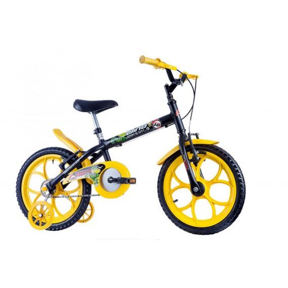 Bicicleta Infantil Aro 16 Dino, Várias Cores