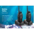 Par De Rádios Comunicadores Multilaser 8Km Walkie Talkie - TV003 110/220V Recarregável
