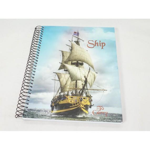 Caderno Capa Dura 200 Folhas 10 Matérias Panamericana