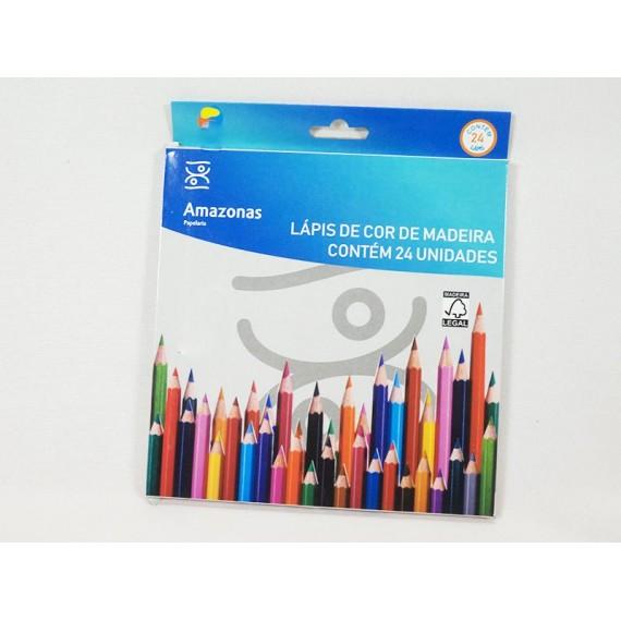 Lápis de Cor 24 Unidades