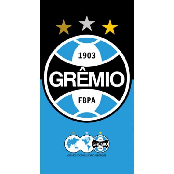 Toalha Felpuda Grêmio 70 cm x 1,30 M