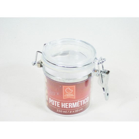 Pote Hermético 350 ML com Trava